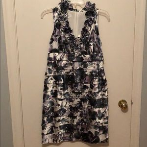 Floral Print cocktail dress
